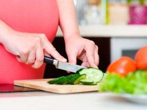 La dieta vegetariana y el embarazo